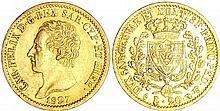Italie - Carlo Felice (1821-1831) - 20 lire 1827 (Turin)