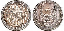 Mexique - Ferdinand VI (1808-1821) - 8 reales 1749 MF (Mexico)