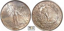 Mexique - 2 pesos 1921 Mo (Mexico)