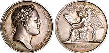 Russie - Alexandre Ier (1801-1825) - Médaille en argent commémore le séjour d'Alexandre Ier à Paris 1814