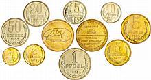 Russie - Union soviétique (1917-1991) - Set de 10 monnaies 1965