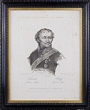 Francesco VENDRAMINI (1780-1856). PLATOV GENERAL-ANSHEF.