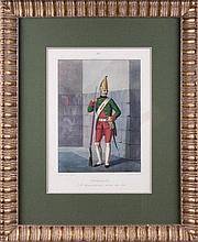 GRENADER LIFE GUARDS IZMAILOVO REGIMENT, 1762.