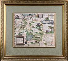 RUSSIAE, MOSCOVIAE ET TARTARIAE DESCRIPTIO, 16th century.