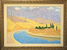 Nikolay KARAKHAN (1900-1970). RUSSIAN PAINTER. CHIMGHAN.