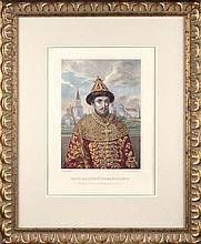 Rudolph ZHUKOVSKY (1814-1886). TSAR ALEXEI MIKHAILOVICH.
