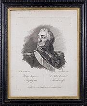 Francesco VENDRAMINI (1780-1856). RUSSIAN FELD-MARSHAL KUTUZOV.