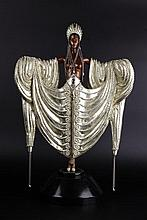 ERTÉ. A BRONZE ART DECO FIGURE «RADIANCE».