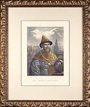 Rudolph ZHUKOVSKY (1814-1886), Mikhail ZELENSKY (1843-1882).RUSSIAN TSAR MIKHAIL FEDOROVICH.