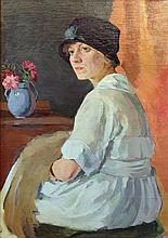 Michael SOKOLOV (1885-1947). PORTRAIT OF A WIFE.