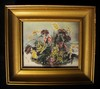 Rare Wallace Nutting Hand-Painted Miniature Signed Orginal