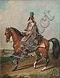 Roman Emperor Franz II on His Horse