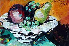 Still Life with Fruit, Jan Bauch