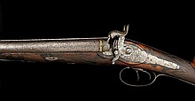 A Double-barrelled Percussion Shotgun, J. Springer, M. Nowotny
