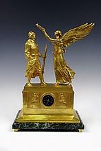 Mantel clock, F. Barbedienne, Paris