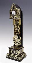 Miniature table clock designed as floor clock