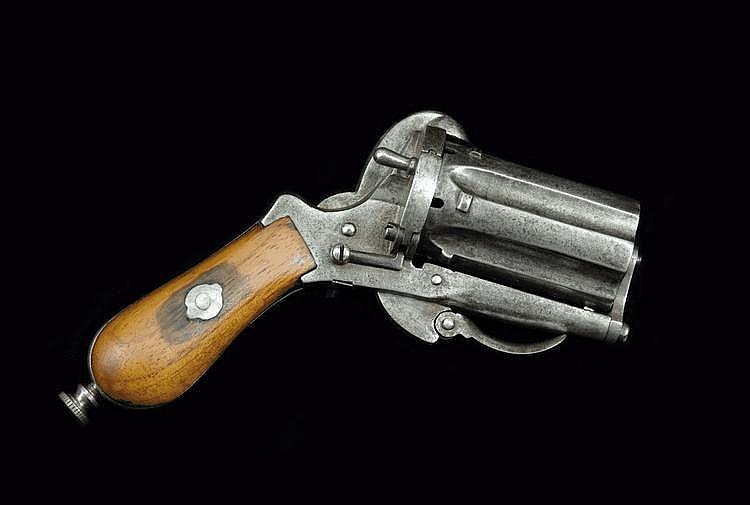 Lefaucheux Fist Pistol ('coup de poing)