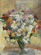 Stillife with a Bouquet, Sláva Tondrová-Zátková