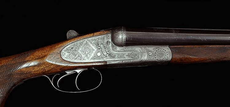 A Sidelock Double-barrelled Shotgun, Holland & Holland type, Johann Kalezky