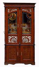 Art Nouveau Orchestrion Cabinet