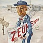 Zeon Signs vintage illustration art; 1960s trade advertising.