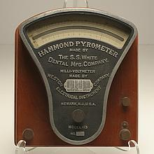 Hammond Pyrometer, made by the S.S. White Dental Mfg. Co.