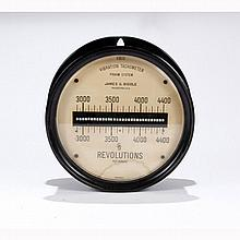 Antique James G. Biddle Frahm System Vibration Tachometer