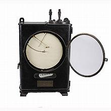 Large Vintage Bailey Meter Company Steam Fluid Pressure Meter