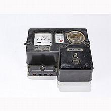 British Smith Electricity Coin Operated Prepay Electrical Meter