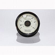 Antique General Electric Poly-Phase Wattmeter Type I