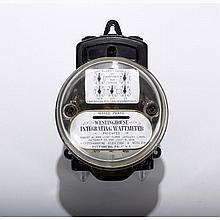 Antique Westinghouse Integrating Wattmeter