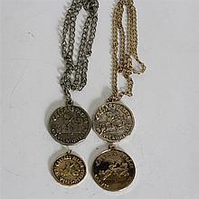 Eleven Vintage Caesars Palace Medallions