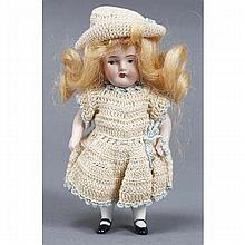German all bisque jointed doll.