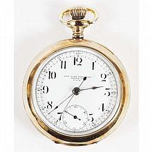 New York Standard Watch Co. Stop Watch Horse Track Model