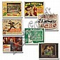 Set of six lobby cards from 1950s and 1960s;