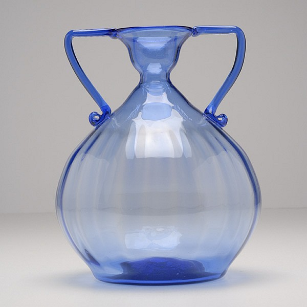 Venini Murano soffiati art glass vase, probably Zecchin.