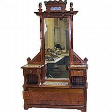 American Victorian Eastlake Dressing Table