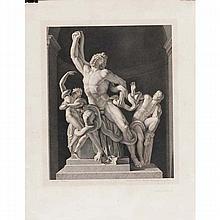 Bervic, Charles-Clément, 1756-1822 / Le Laocoon / dessiné par Bouillon ; gravé par Bervic, Membre de l'Institut Imperial de France.