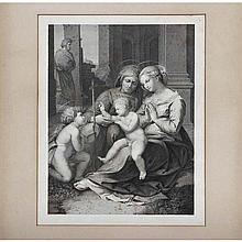 Three European engravings on wove paper, ca. 19th Century: