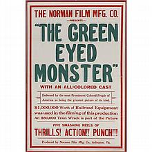 Black memorabilia poster; The Norman Film Mfg. Co.