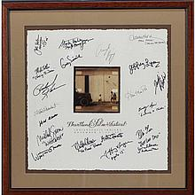 Hollywood autographs: Celebrities/Producers/Writers affiliated with the Heartland Film Festival, Indianapolis, IN 1995. Signed by Ha...