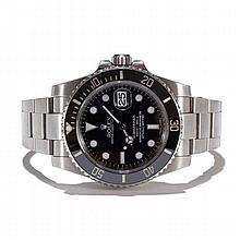 Men's Stainless Steel Rolex Oyster Perpetual Submariner Self Winding Watch