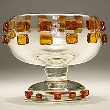 Robert Willson Studio art glass vase