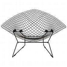 Bertoia large diamond lounge chair for Knoll.