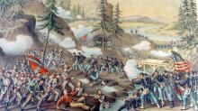 Battle of Chattanooga, Original Kurz & Allison, 1890