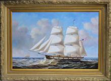 Antique Maps, Paintings, Prints, Etchings & Books. Washington, DC, New York, Shells and Sailing