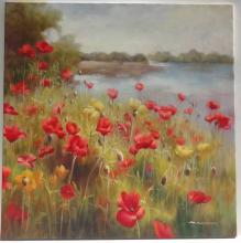 Poppies Painting by G. Salman
