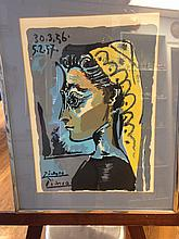 Pablo Picasso (After) Lithograph - Limited Edition 217-375