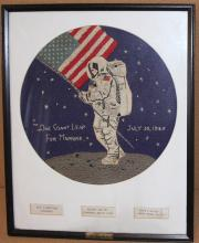 Apollo 11 Embroidered Theorum