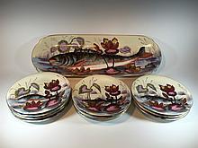 Old Limoges set of 11 porcelain pieces